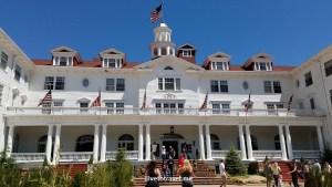 Stanley Hotel, Estes Park, Colorado, Rocky Mountain National Park, facade, architecture, photo, tour, The Shining