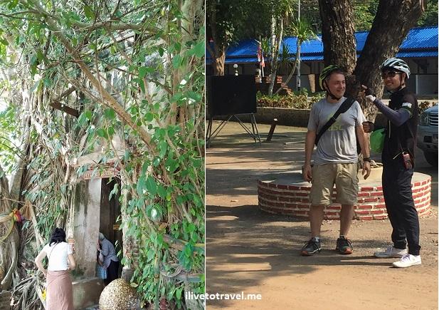 Bang Kung, camp, navy, Thailand, Bangkok, temple, Buddha, travel, explore, bike tour