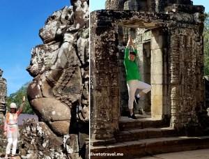 Angkor Thom, Bayon, temple, Khmer, Cambodia, Camboya, Cambodge, travel, explore, adventure, tourism, photo, samsung Galaxy, S7