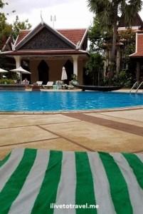 Siem Reap, Cambodia, Angkor Wat, Asia, travel, explore, adventure, photo, Borei Angkor, resort, pool, Samsung Galaxy, S7