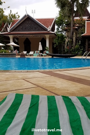 Siem Reap, Cambodia, Angkor Wat, Asia, travel, explore, adventure, photo, Borei Angkor, resort, pool, Samsung Galaxy, S7