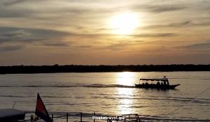 Tonle Sap Lake sunset