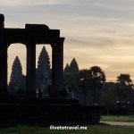 Angkor Wat, temple, Siem Reap, Cambodia, Cambodge, Camboya, travel, explore, viajes, Asia, photo, sunrise, sky, Samsung Galaxy, library