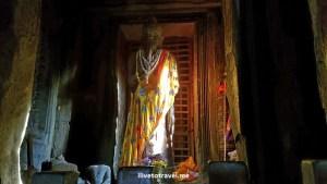 First, a standing Buddha...