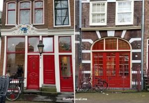 Red doorways - cool