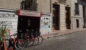 Biking in Buenos Aires