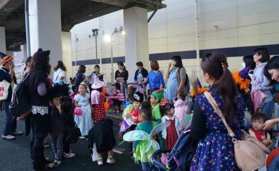 ハロウィン仮装パレード♪ 2013年10月25日(金)