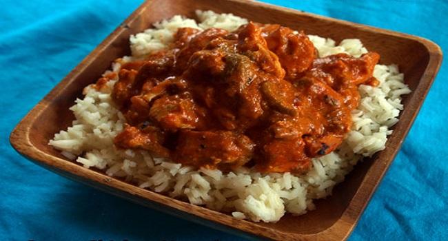 Congo Chicken Moambe (Stew)