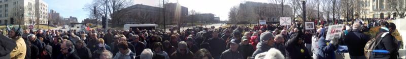 Crowd Outside