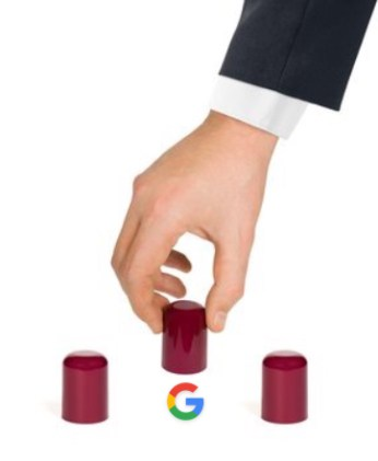 Google Shell Game