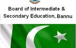 BISE Bannu Board Intermediate Result 2016