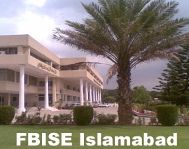 Check Federal Board SSC Part 1 Result 2014 fbise.edu.pk Online