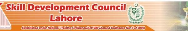 Skill Development Council Lahore Courses