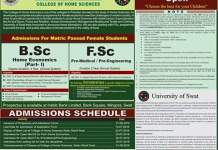 University Of SWAT Admission 2016 Form Download Online