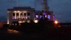 Kulosaaren Casino juhlavalaistuna Know How Night 2015 iltaa varten