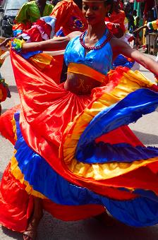 Jacmel, Haiti; Carnival Day!!
