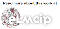 "ELMCIP logo with text: ""Read more about this work at ELMCIP."""