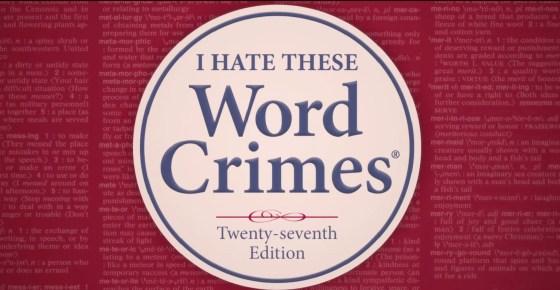 """""""Word Crimes"""" by Weird """"Al"""" Yankovic"""