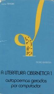 """""""A Literatura Cibernética 1"""" (cover) by Pedro Barbosa"""