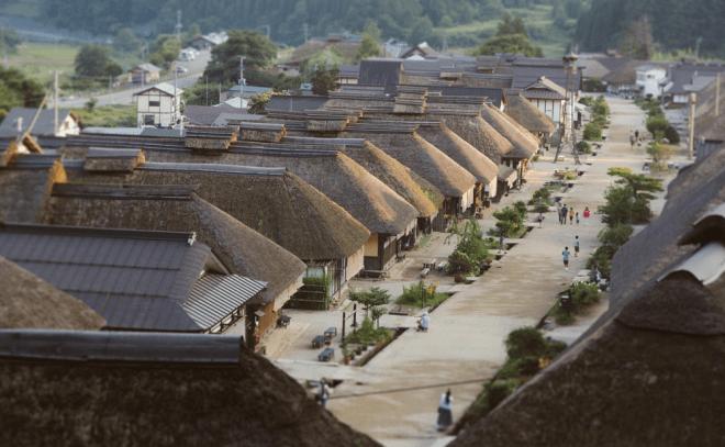 国重要伝統的建造物群保存地区 大内宿