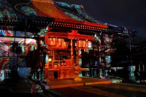 京都・嵐山花灯路の画像