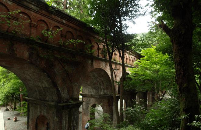 南禅寺・琵琶湖疎水(びわこそすい)