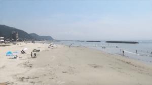 山海海水浴場の画像
