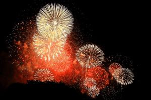 土浦全国花火競技大会の画像