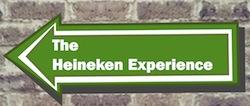 Heineken Experience sign