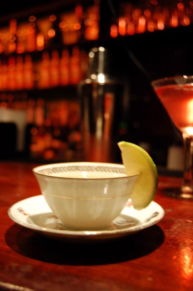 Teacup cocktail