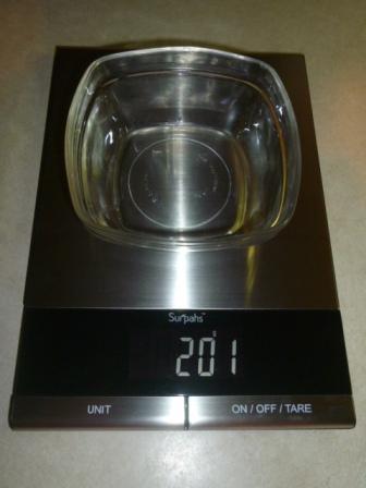 Surpahs digital kitchen scale 5