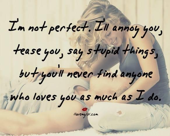 i 39 m not perfect i love my lsi
