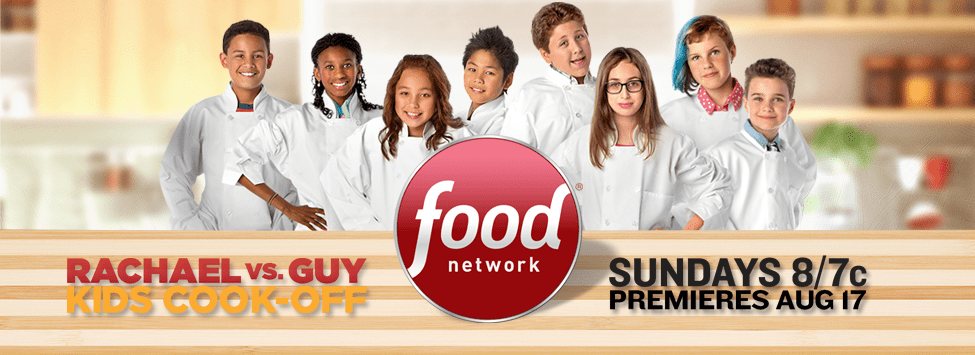 Newton's Finn Skerlj on Rachel Ray vs Guy Fieri Kids Cook Off!!