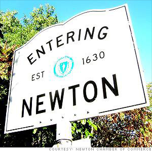 Newton #13 Happiest Place in MA
