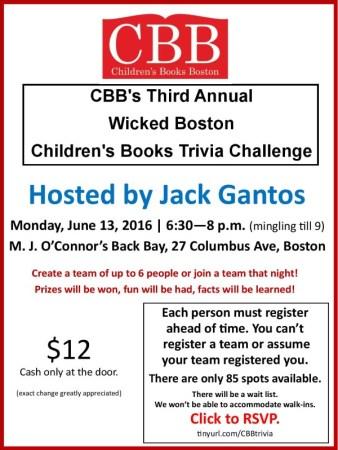 Boston Children's Books Trivia Challenge!