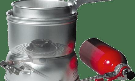 Välj bränsle med Trangia Multifuel X2