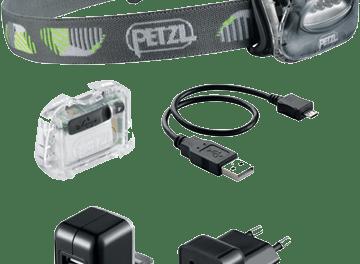 Intelligent batteri till Petzls pannlampor
