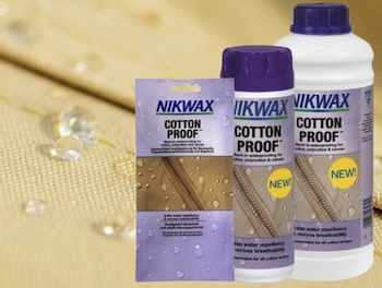 Nikwax lanserar nya Cotton Proof