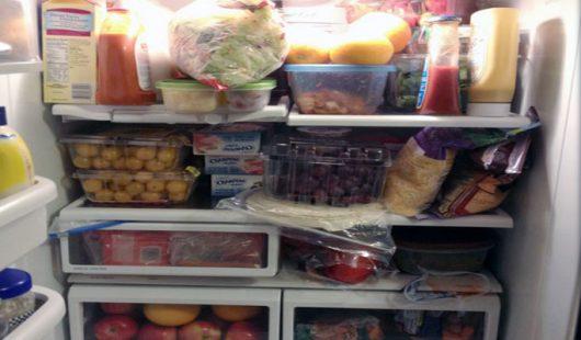 Never refrigerate