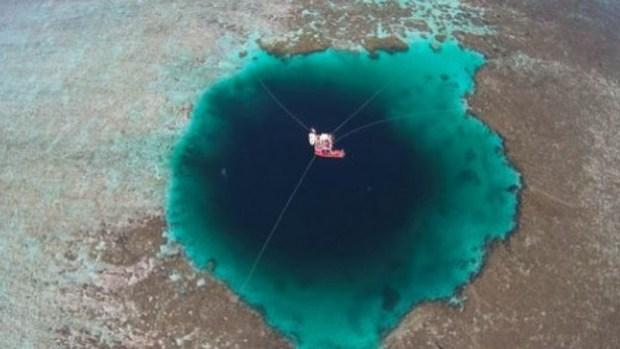 Nel bel mezzo del mar cinese, ecco la voragine più profonda del mondo