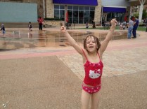 Kylie in the Fountains