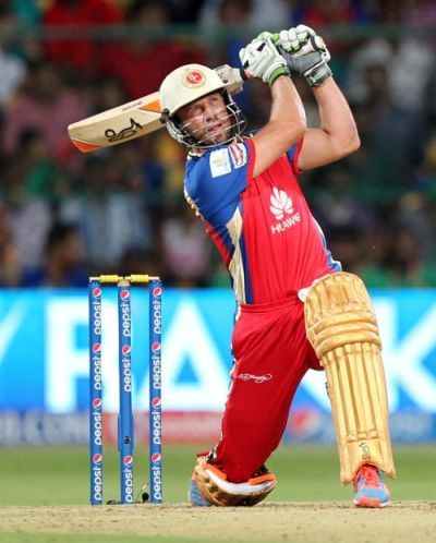 IPL PHOTOS: De Villiers storm sinks Sunrisers - Rediff Cricket