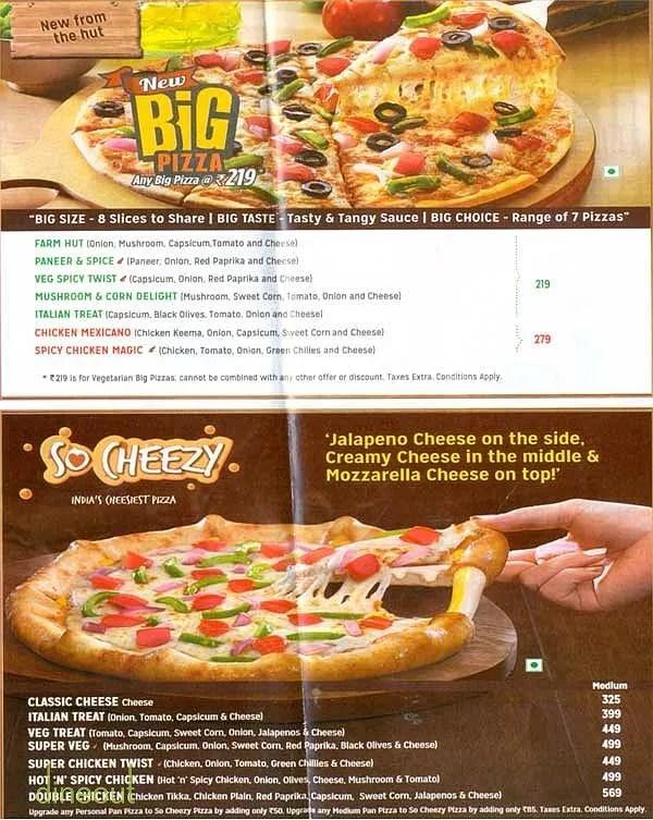 Fullsize Of Pizza Hut Sizes
