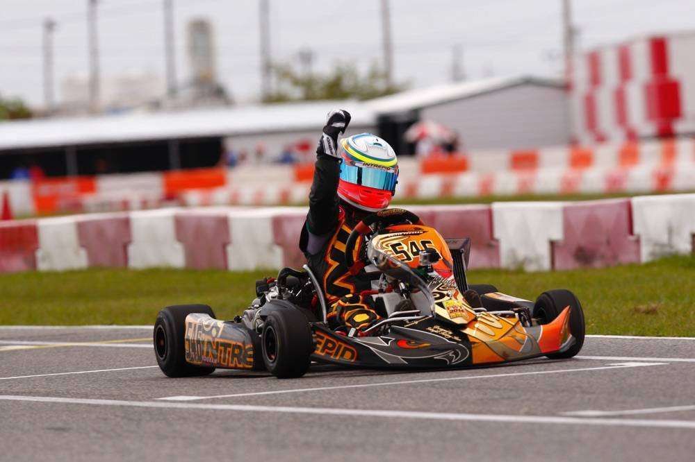 Team Goodwood Kartways Imaf seat gokart