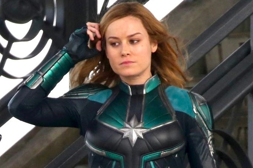 Captain Marvel  Set Photos Have Arrived   HYPEBEAST  Captain Marvel  Set Photos Have Arrived   HYPEBEAST