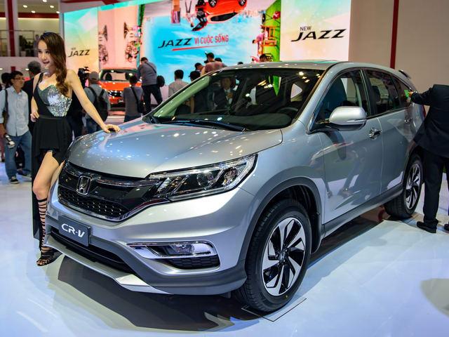 Giảm giá mạnh, Honda CR-V bán nhiều gấp đôi CX-5 - 1