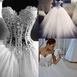 Small Crop Of White Wedding Dress