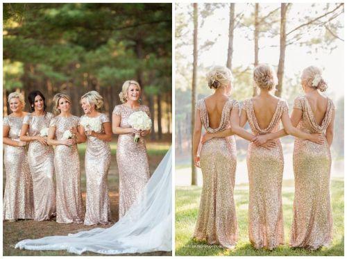 Medium Of Sequin Bridesmaid Dresses