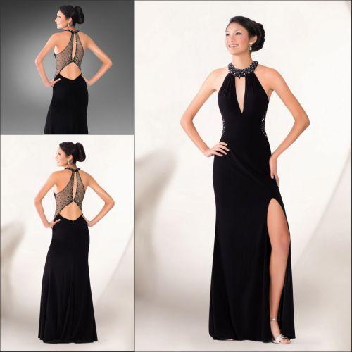 Medium Crop Of Long Black Dress