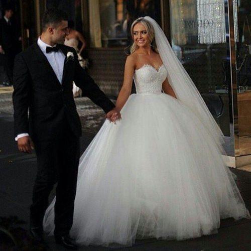 Medium Of Corset Wedding Dress